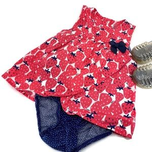 Carters Just One your strawberry outfit one piece